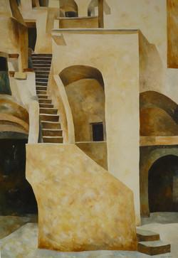 Nerano - Oil on canvas - cm 70x100