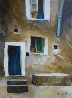 Casa 2 - House 2 - Oil on canvas - cm 18x24