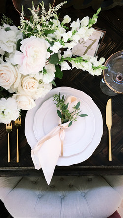 Guest Table Setting