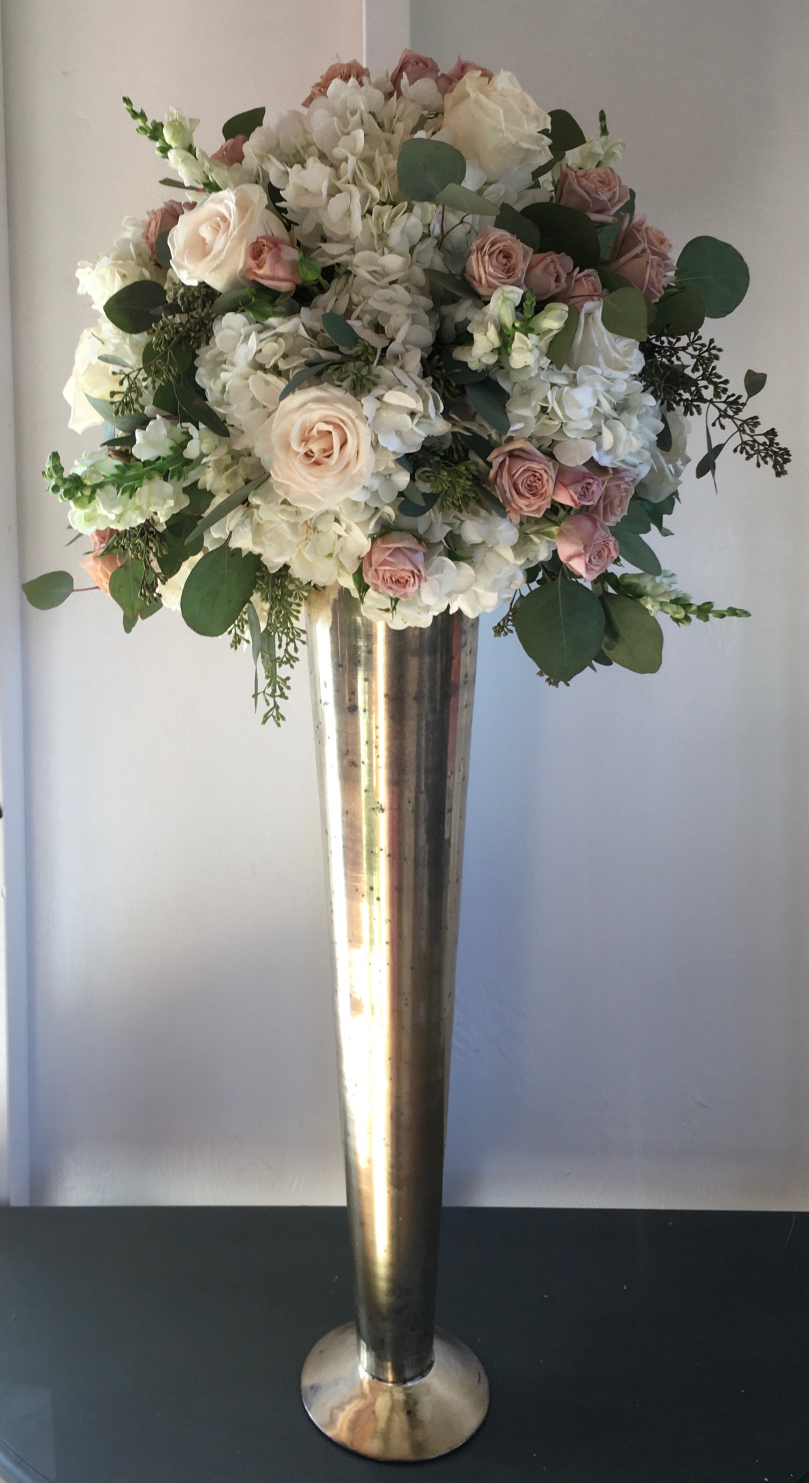 Elevated Floral Arrangement
