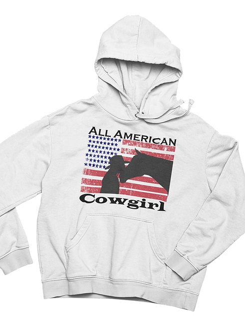 All American Cowgirl Hoodie