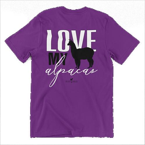 Love My Alpacas T-Shirt