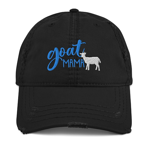 Distressed Goat Mama Hat