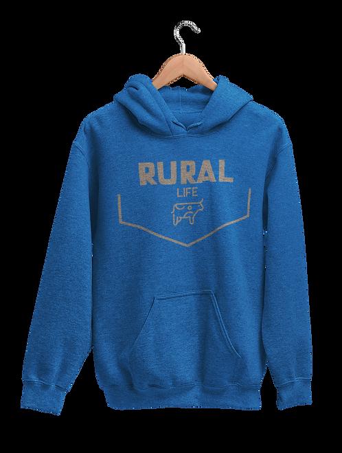Rural Life Cow Hoodie