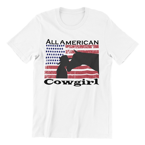All American Cowgirl T-Shirt