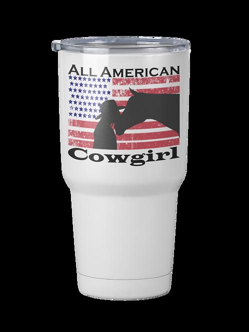 All American Cowgirl Travel Mug