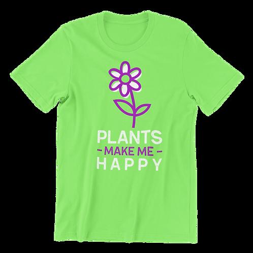Plants Make Me Happy T-Shirt