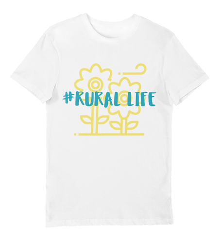 Sunflowers Rural Life T-Shirt