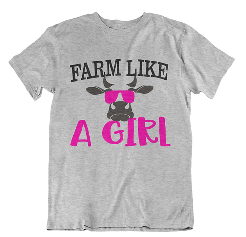 Farm Like A Girl T-Shirt