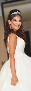 Beautiful Arab bride in London  Hair and