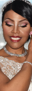 African Bridal makeup at London Hilton Hotel Makeup only