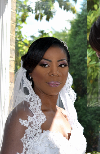 Jamaican Bridal Makeup and Hair