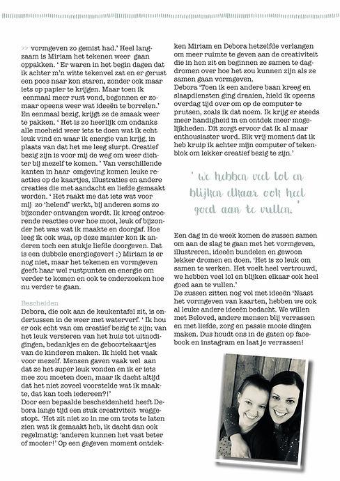 Miriam Urbanus en Debora Agteres; de gezichten achter my-beloved