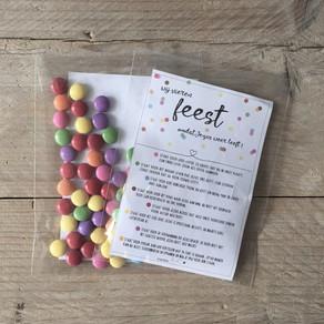 DIY uitdeelzakjes Pasen en Paasslinger Jezus Leeft!