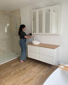 HOME: Onze badkamer in wording