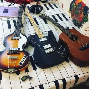 Hofner, Fender, Washburn - Rivita's instuments