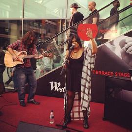 Rivita live at Westfield, London