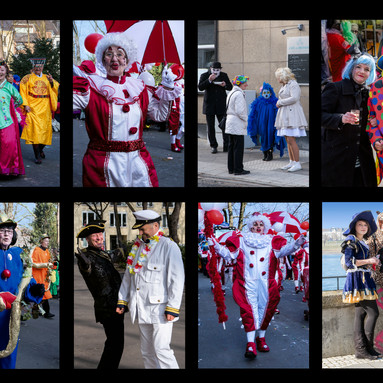 CARNIVAL CHARACTERS ( 20 )