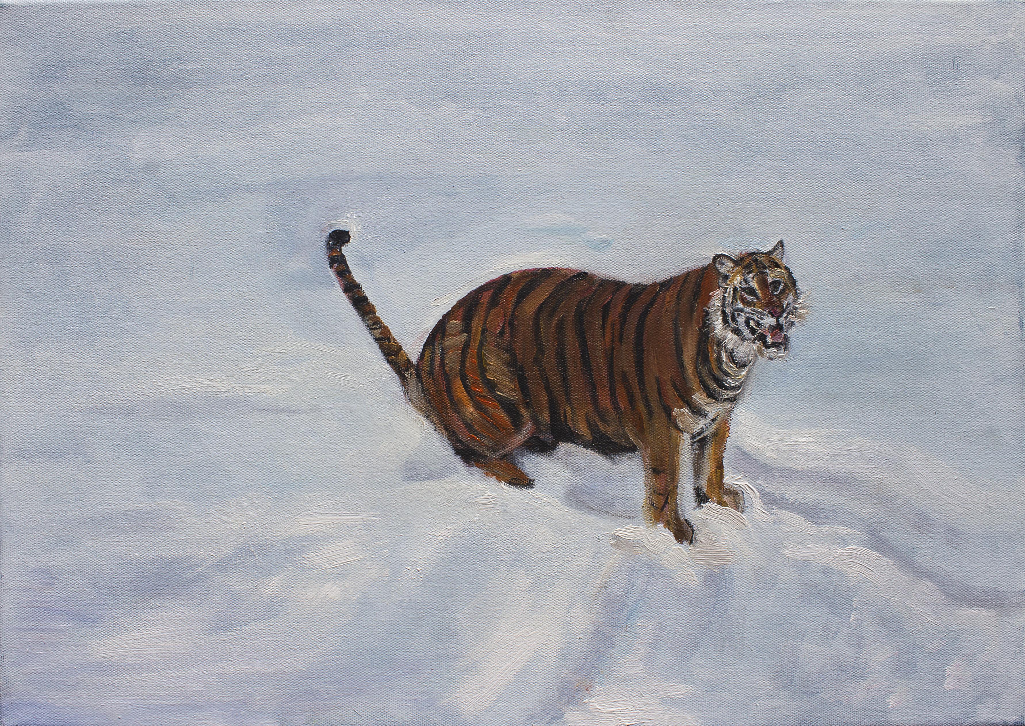 """""""Tigre en la nieve"""""""
