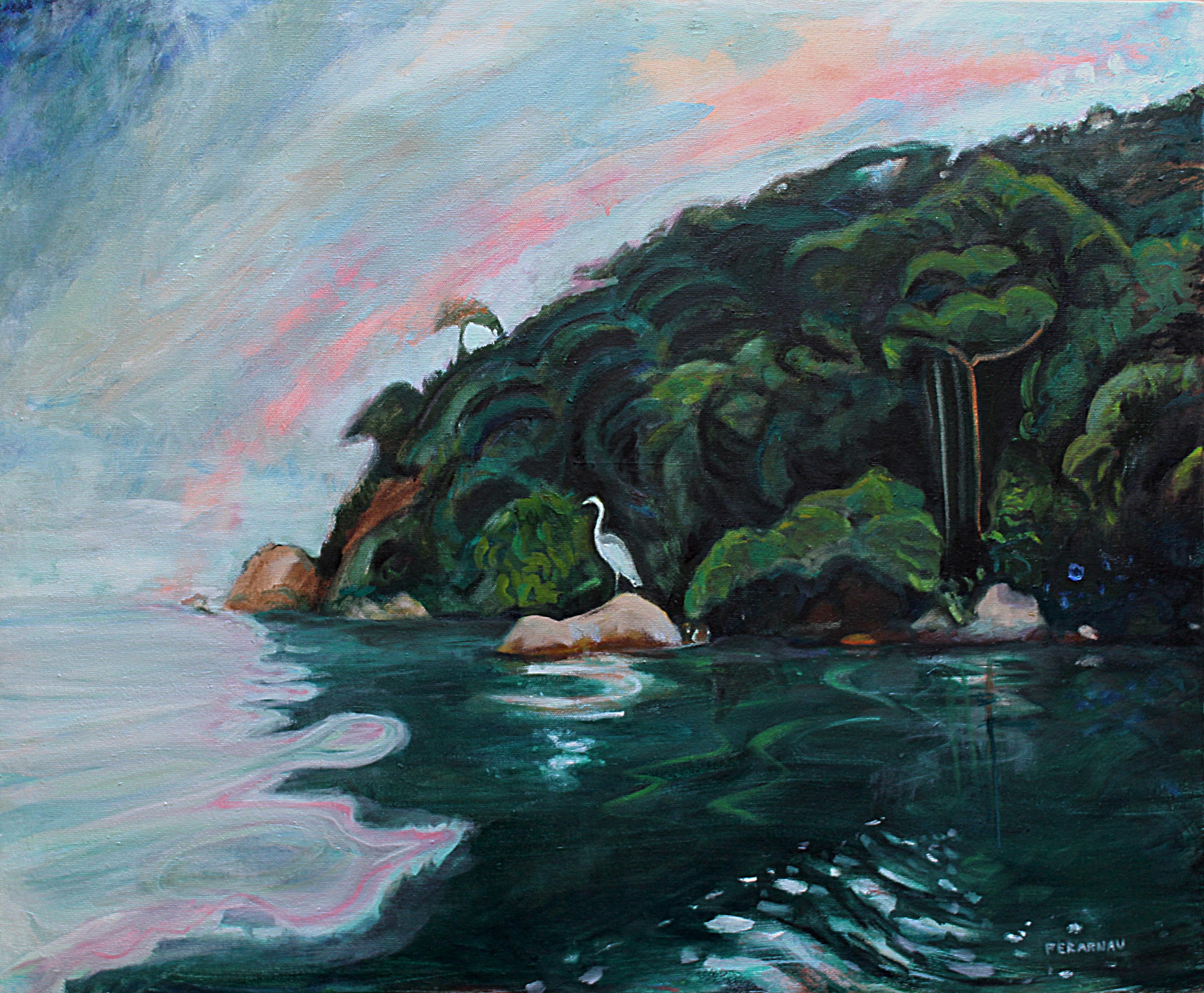 """""""La isla de la Garza Blanca"""""""