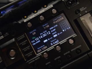F55 4K All File Camera Set-up