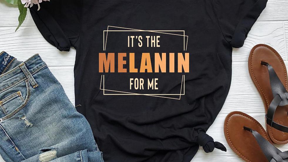 Ladies 100% Cotton Melanin Women Summer Femme Graphic Tees Shirt