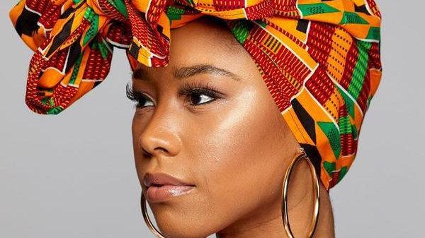 """KENTE Cloth Extra Long 72""""×22"""" Headwrap ANKARA  African Print Wrap for Women"""