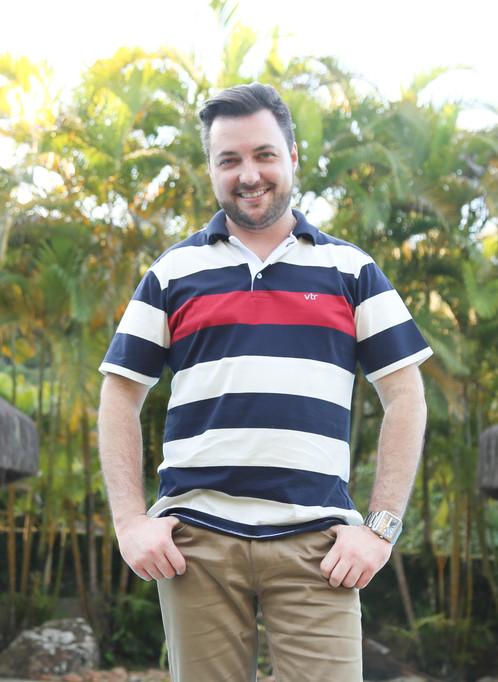 Camisa polo adulta confeccionado em meia malha fio 30 1 penteado 3bd373e0cff82