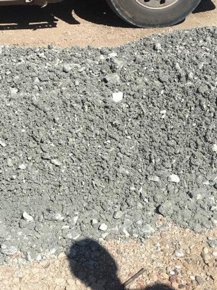 30 Ton load of 3 inch crusher run limestone