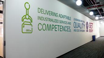 Ericsson Telecom México / Workplace branding