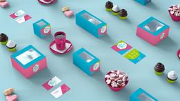 O! My Desserts / Brand design