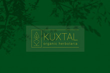 Kuxtal Organic Herbolaria / Logo & label design