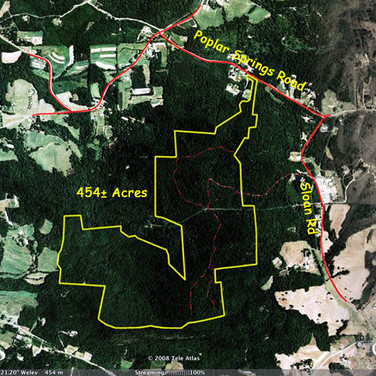 Land in Alexander County