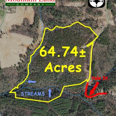 land near stone mountan state park