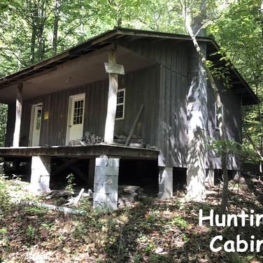 Hunting Cabin near Statesville NC