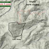 Ashe County North Carolina land