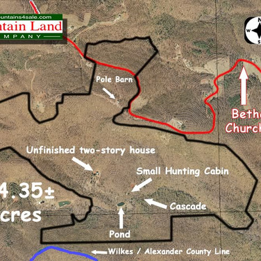 Land in the Brushy Mountains for Sale