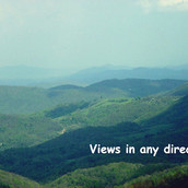 NC land with mountain views
