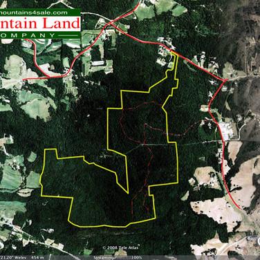 Alexander County Mountain Land
