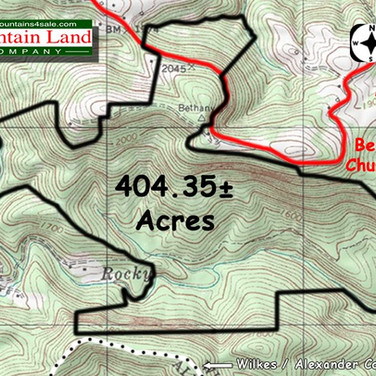 Brushy Mountain NC land for sale