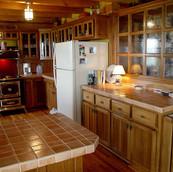log cabin in log cabin in Ashe County NCAshe County