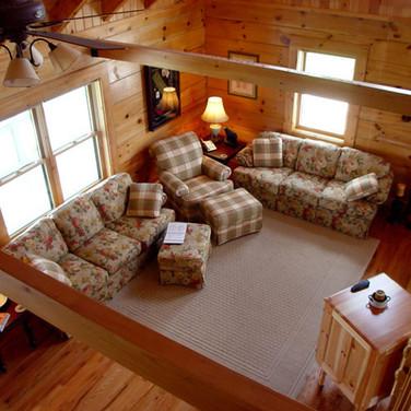 log cabin in Ashe County NC