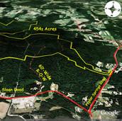 Alexander County NC Hunting Land