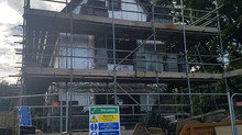 Plastering - Timber Frame New Build in Wetherby Leeds