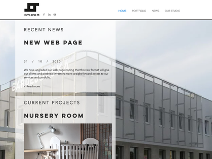 New web page launch
