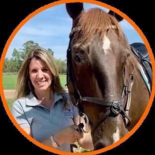 Marcela Parsons - Instrutora de Equitaç