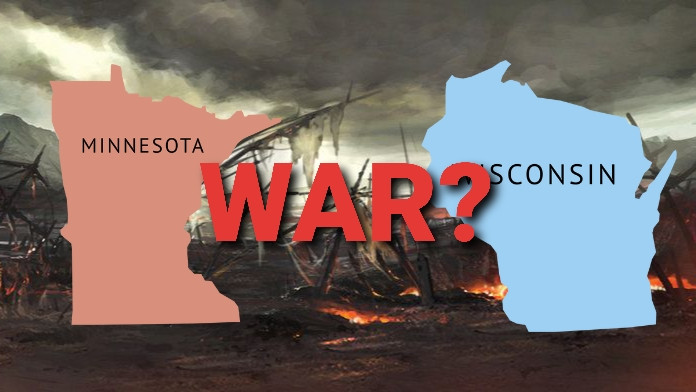 Minnesota and wisconsin might wage war