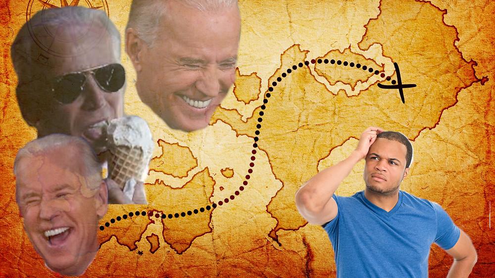 Bidens treasure map to the desired stimulus