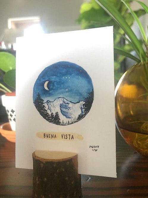Buena Vista, Colorado mini print