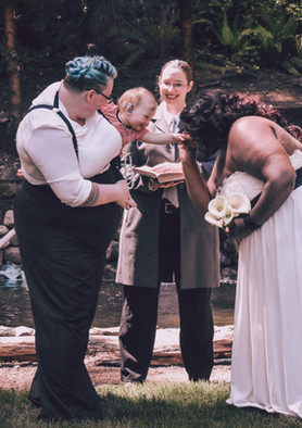 Ceremony by water